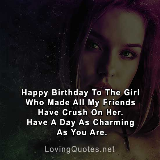Birthday Quotes For Celebrity Crush: 50+ Birthday Wishes For Crush [Make Her/His Birthday A